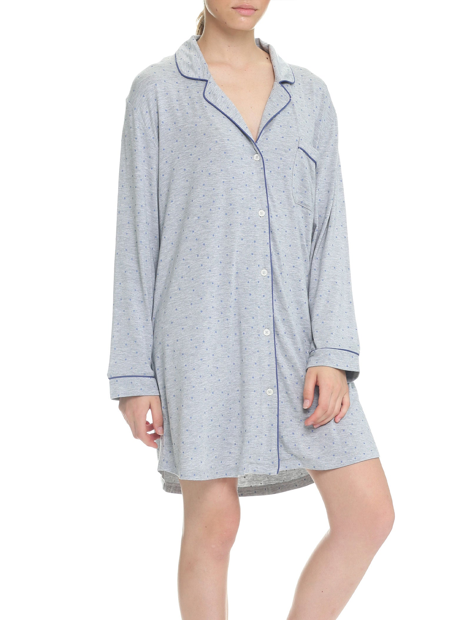 Indigo Spot Modal Soft Kate Nightshirt