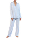 Modal Soft Kate Pajama Set in Powder Blue