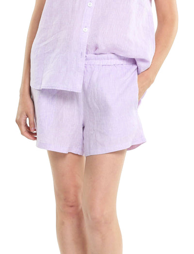 Resort Linen Boxer in Lavender