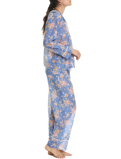 Lou Lou Bleu Full Length Pajama Set