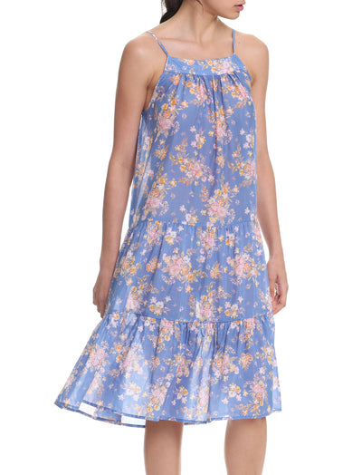Lou Lou Bleu Tiered Nightgown