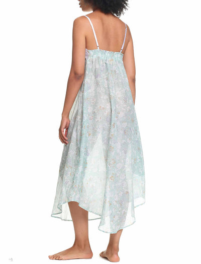 Louis Mint Cotton & Silk Nightgown