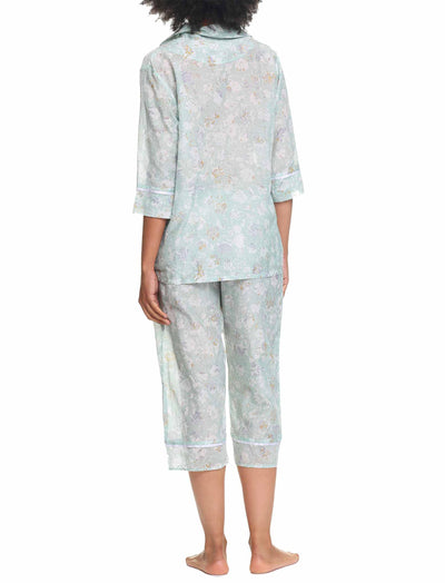 Louis Mint 3/4 Pajama