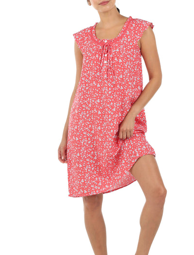 Mathilda Grapefruit Flutter Nightgown