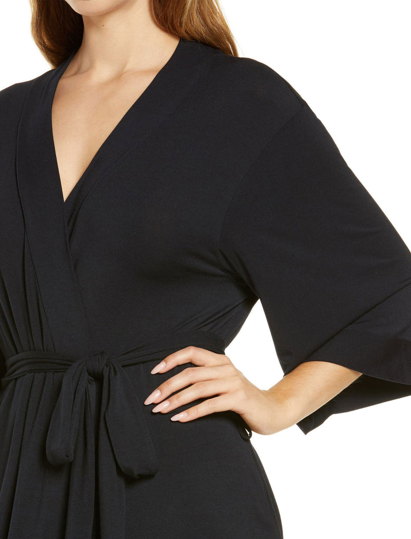 Modal Robe in Black