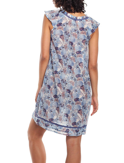 Paloma Blue Flutter Nightgown