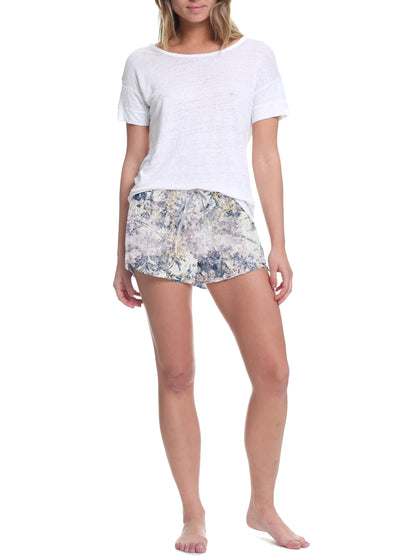 Persian Stone Frilled Boxer Shorts