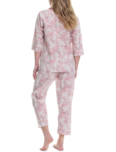 Pixie Floral Crop Pajama set