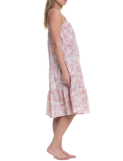 Pixie Floral Tiered Nightgown
