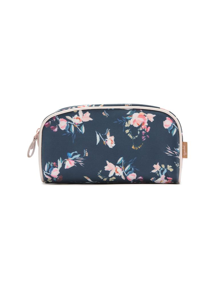 Ruby Jean Navy Small Cosmetic Bag