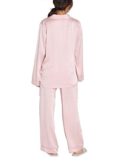 Washable Silk Pajamas in Musk