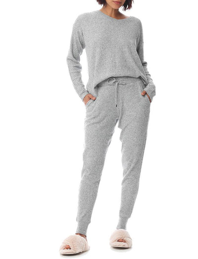 Super Soft Waffle Jogger in Grey