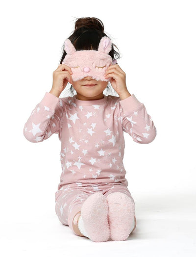 Kids Fluffy Mouse Eye Mask