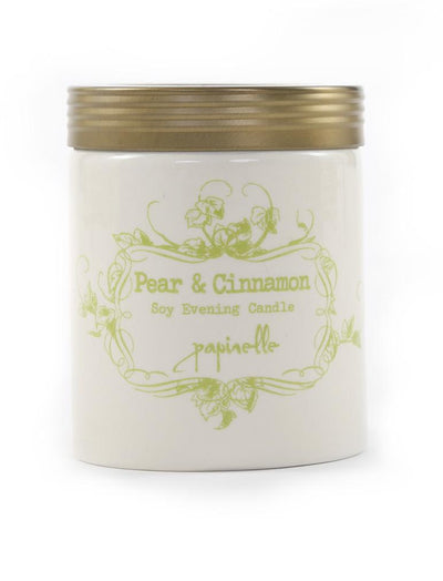 Candle Soy in Pear and Cinnamon