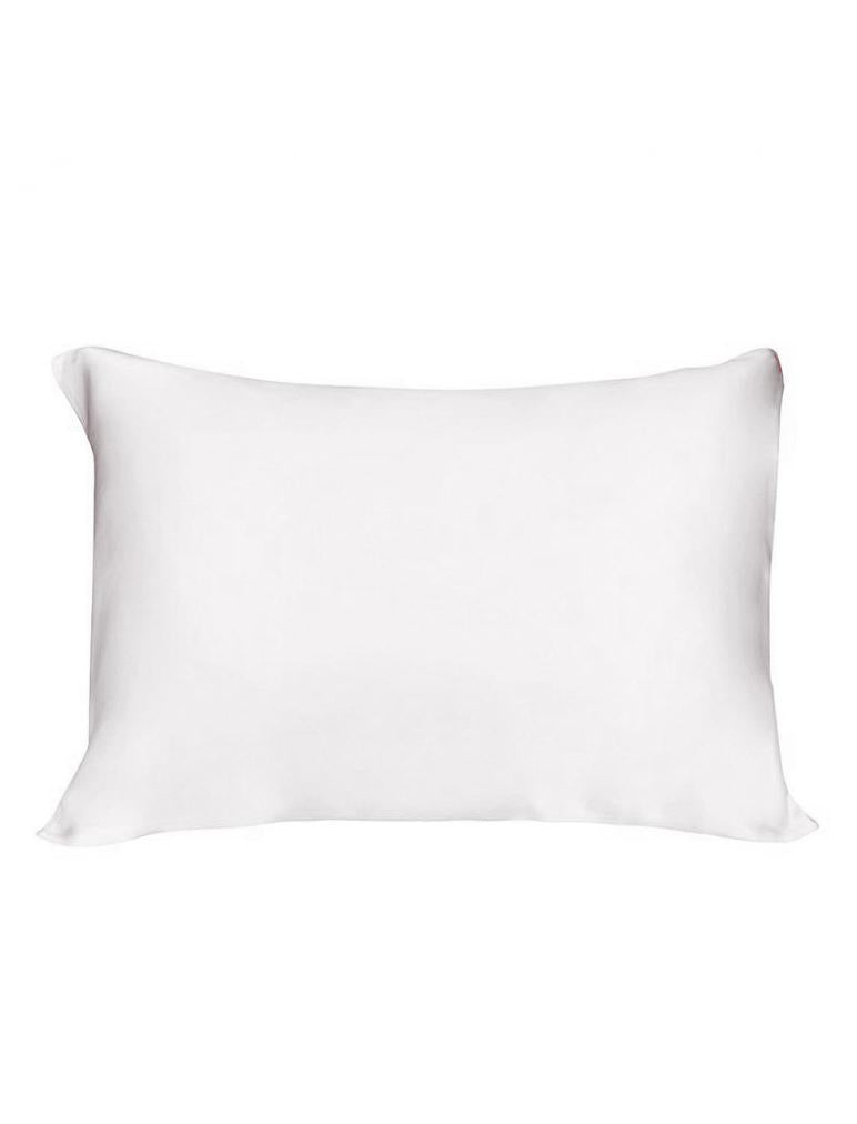 Boxed Silk Pillow Slip in White