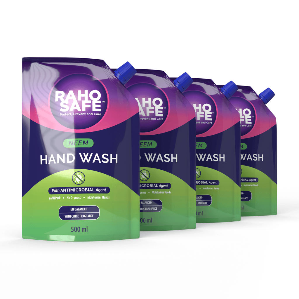 HAND WASH 500ML (NEEM) - REFILL PACK (PACK OF 4)