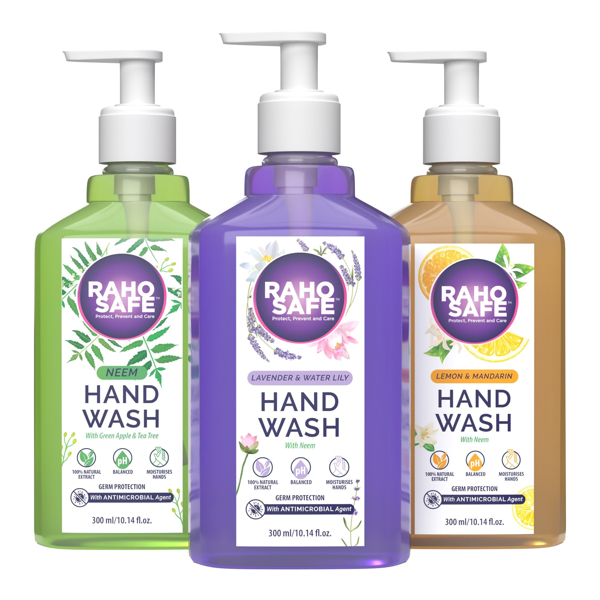 HAND WASH 300 ML (PACK OF 3)