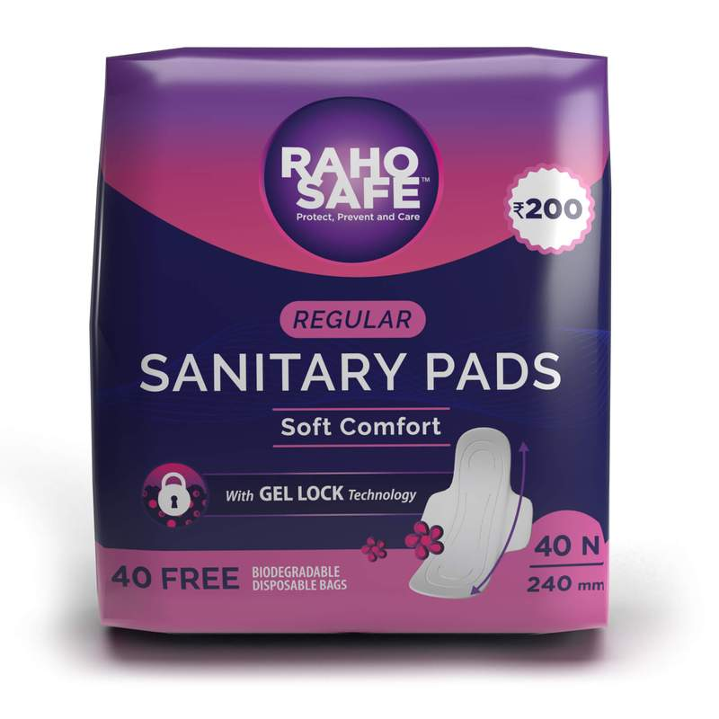 Sanitary Pads - Regular 240mm (Pack of 40)