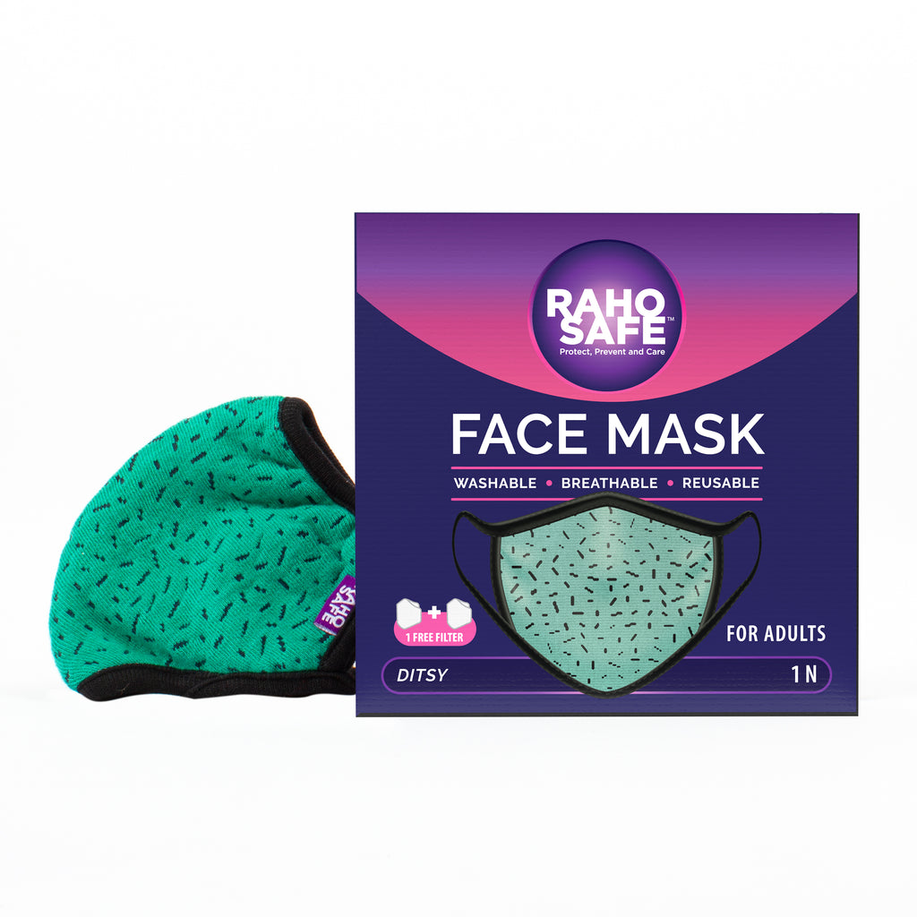 Ditsy Face Mask for Adults