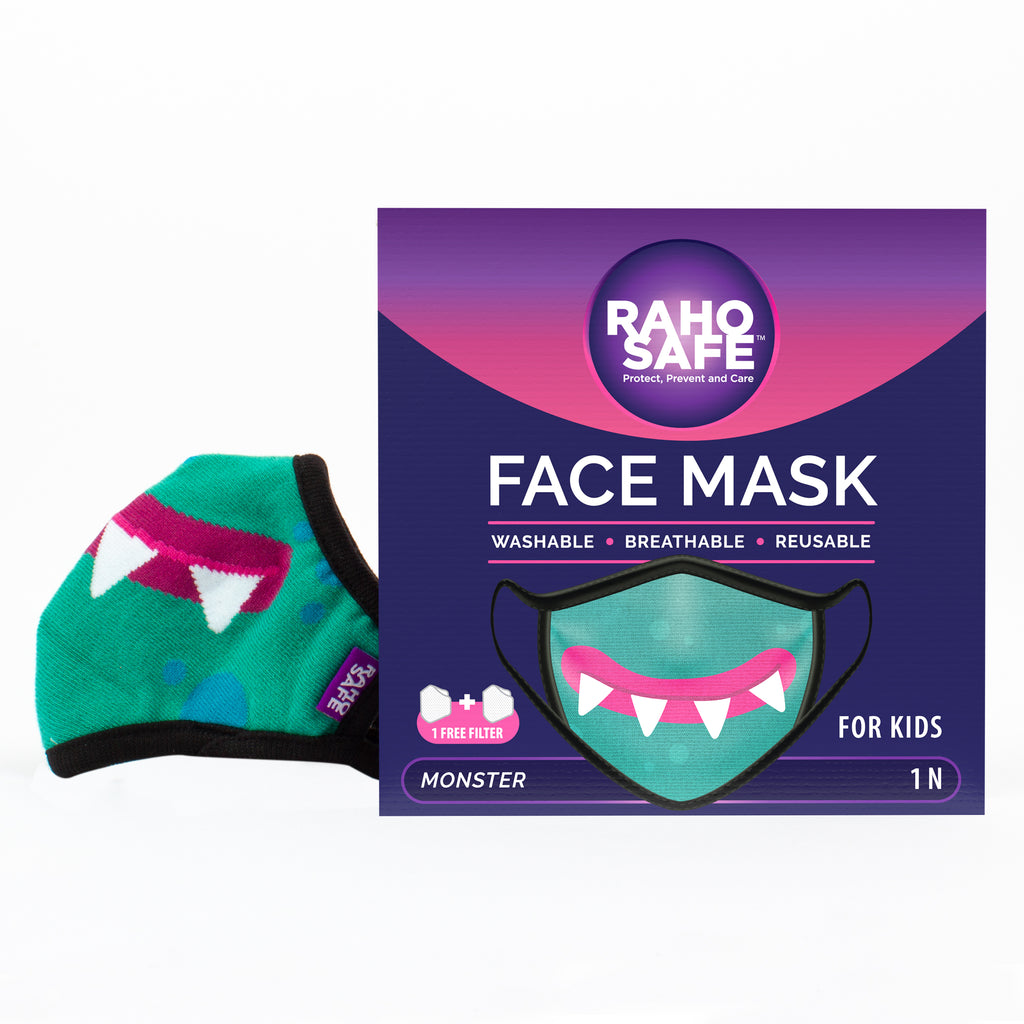 Monster Face Mask for Kids