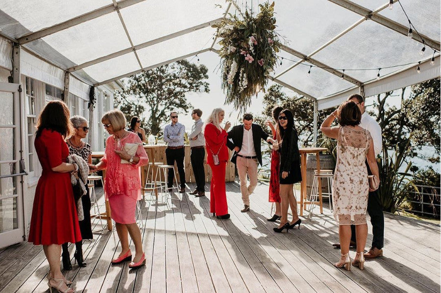 NZ Marquee Hire wedding marquee features in Hello May magazine
