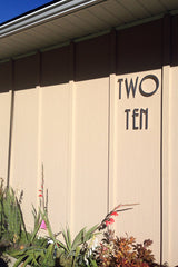 modern house numbers customer photo
