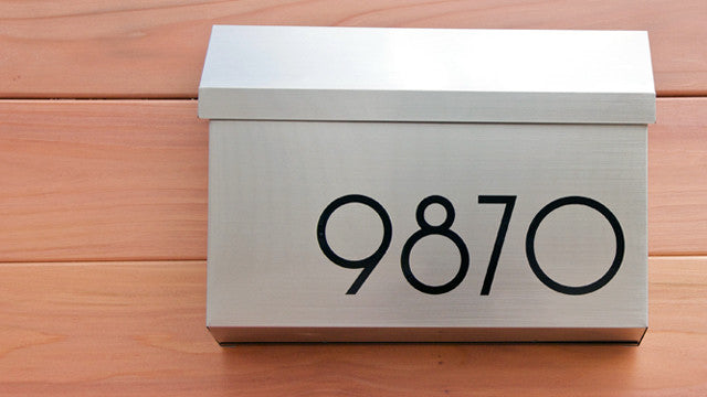 SoCal black mailbox numbers