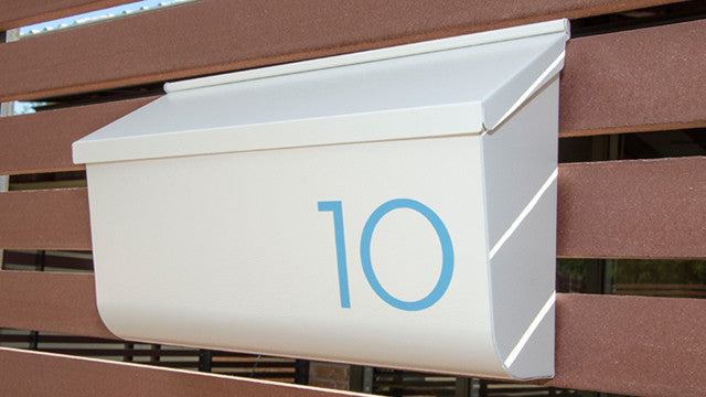 Palm Springs blue mailbox numbers