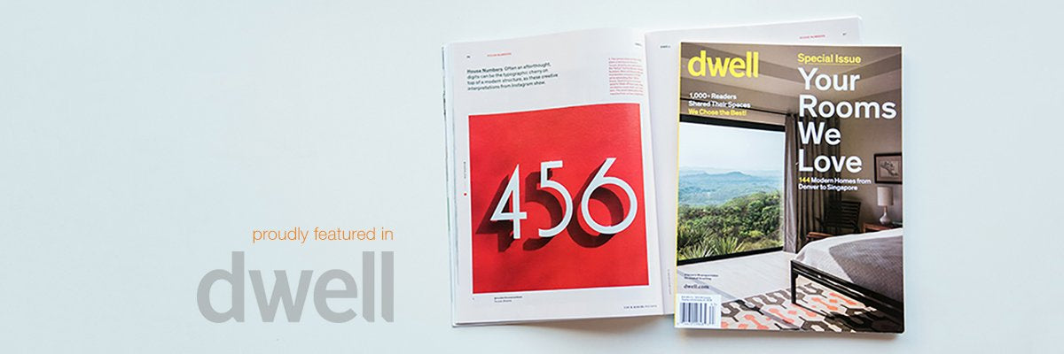 as seen in Dwell magazine