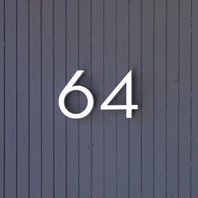 10 inch Bold House Numbers