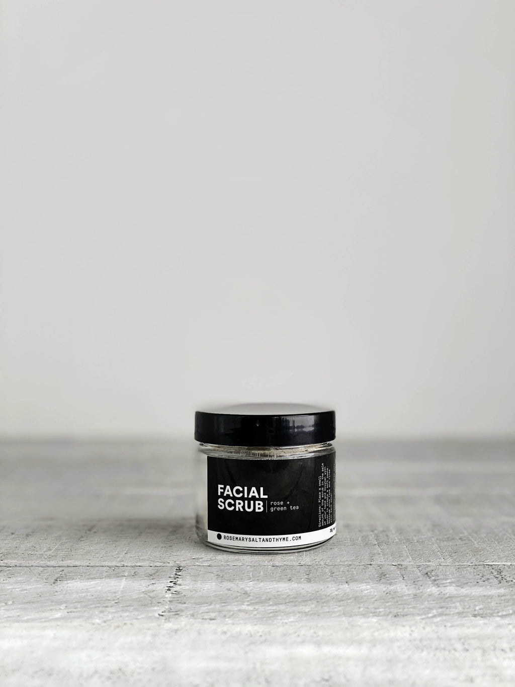 Rose + Green Tea Facial Scrub