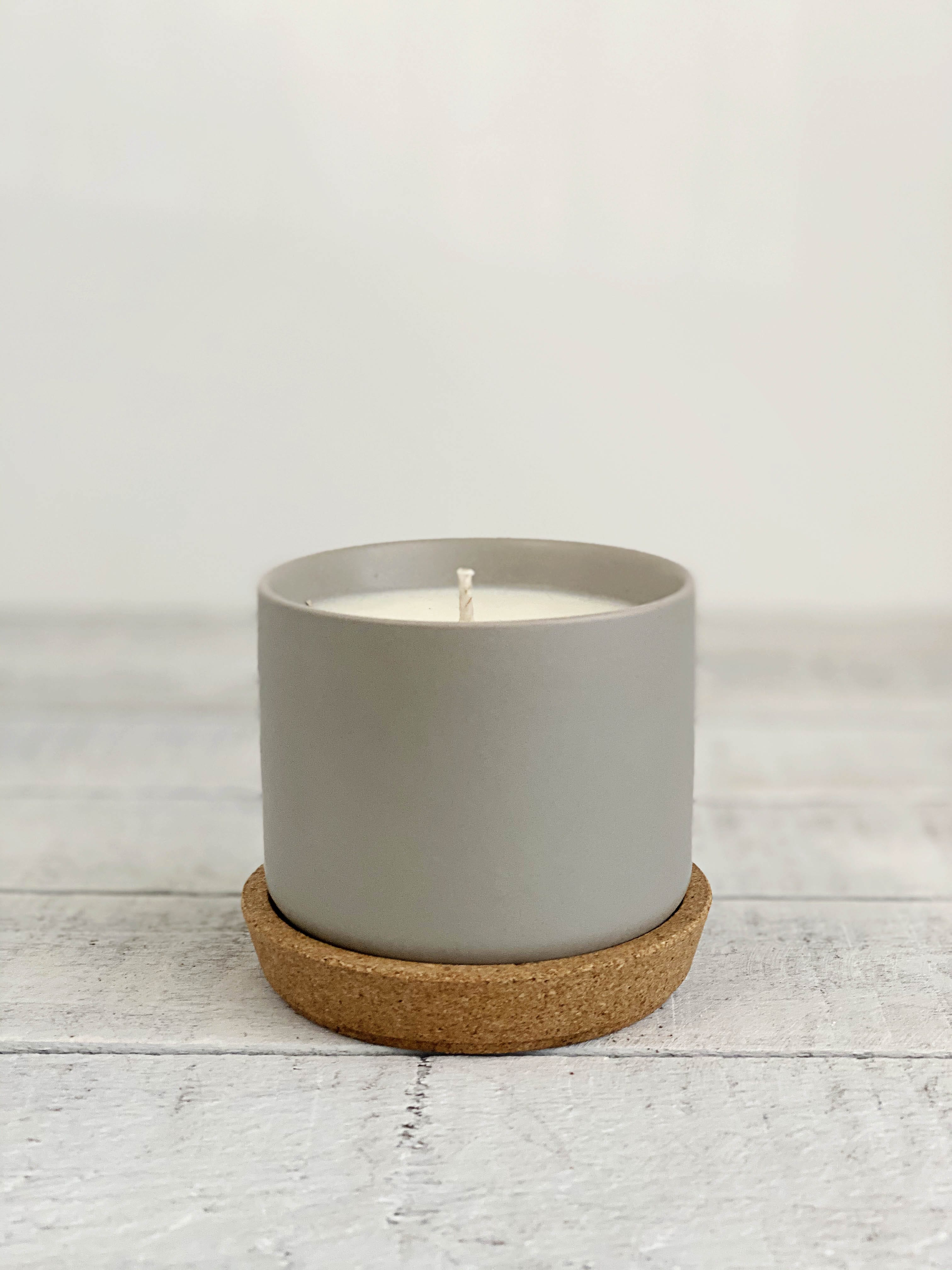 Gray Topanga Candles
