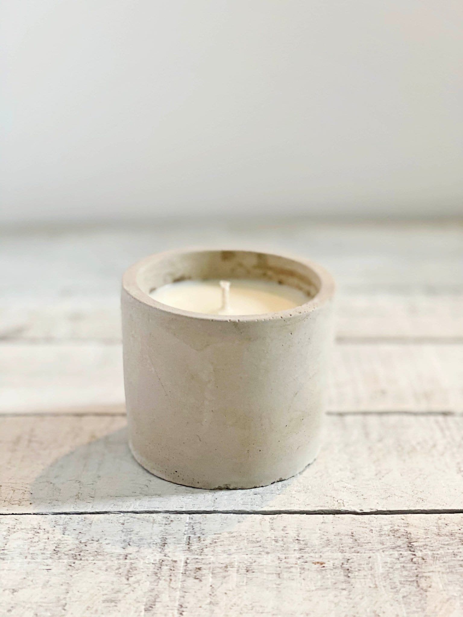 Concrete Candles - Rosemary, Salt + Thyme