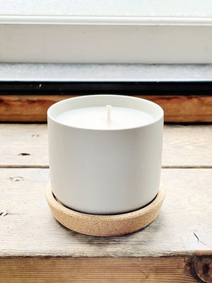 Gray Topanga Candles - Rosemary, Salt + Thyme