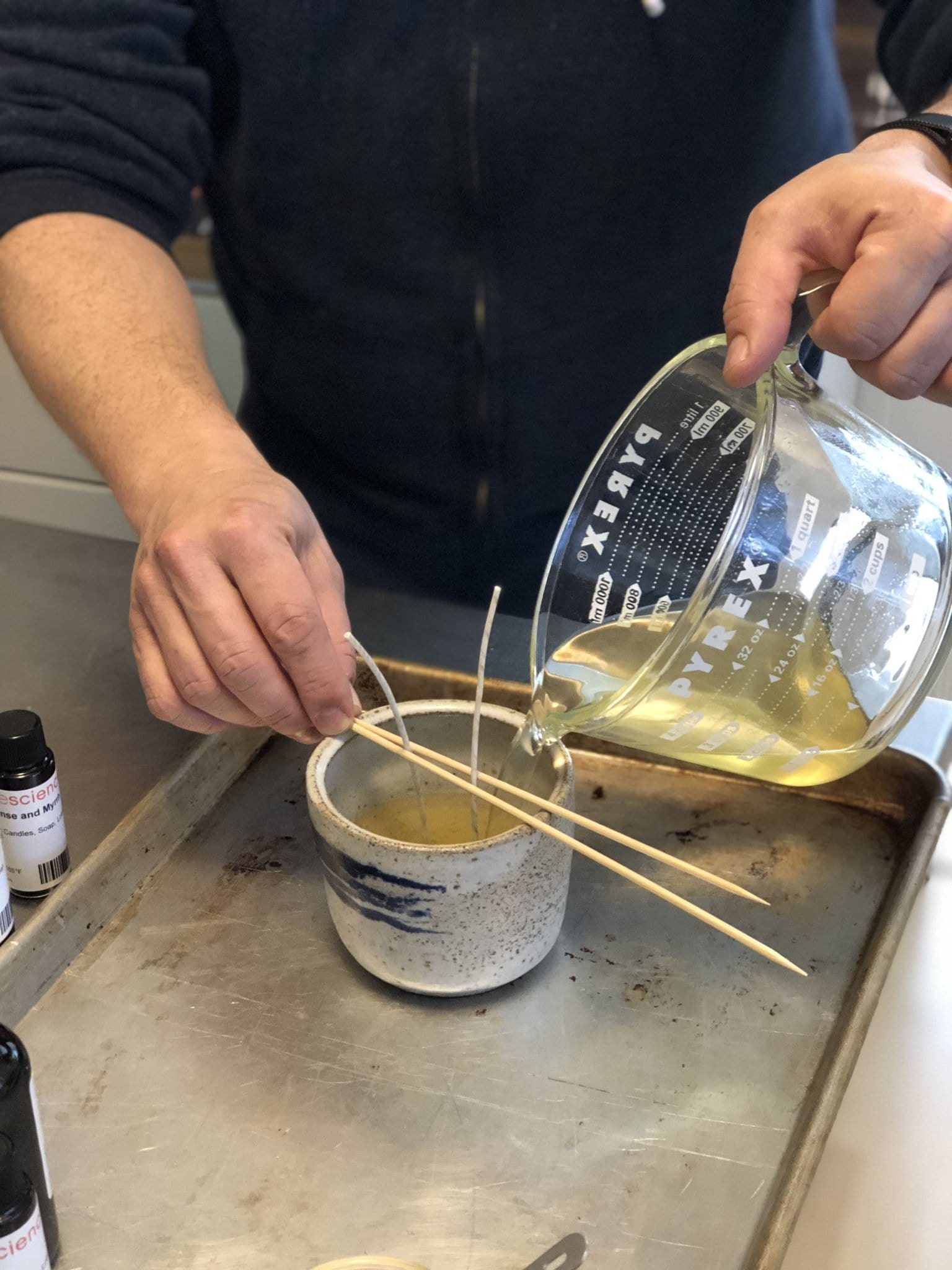 Modern Candle Workshop (SATURDAY, FEBRUARY 15TH) - Rosemary, Salt + Thyme