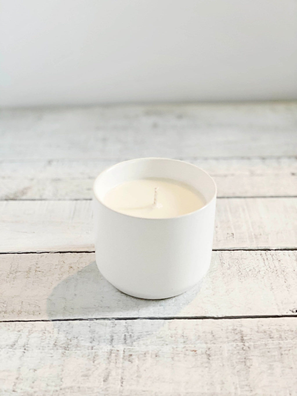 White Topanga Candles - Rosemary, Salt + Thyme