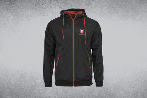 HCH Wind Runner Black & Red