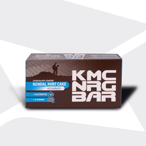 KMC NRG BAR (Chocolate Coated Kendal Mint Cake Recharged) 50g