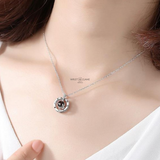 LOVE NECKLACE PLATA .925