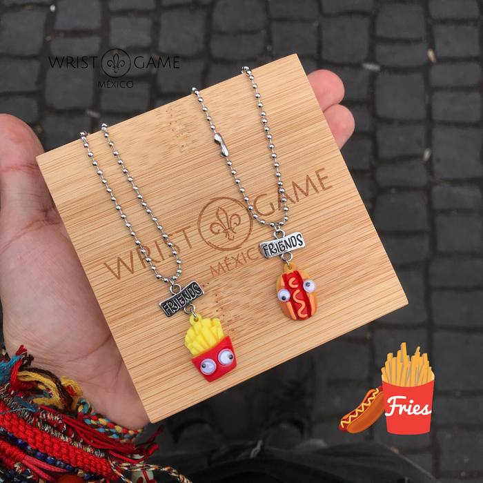 FRIES BFF NECKLACE DUET