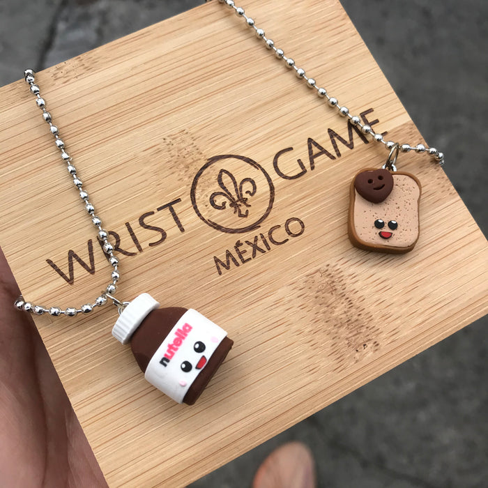 NUTELLA COUPLE NECKLACE