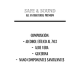 GEL ANTIBACTERIAL SAFE & SOUND PREMIUM