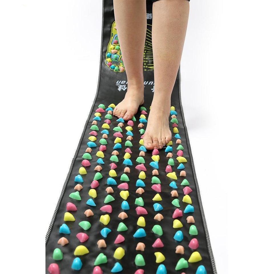 Reflexology Acupressure Foot Massage Mat - morganretailers