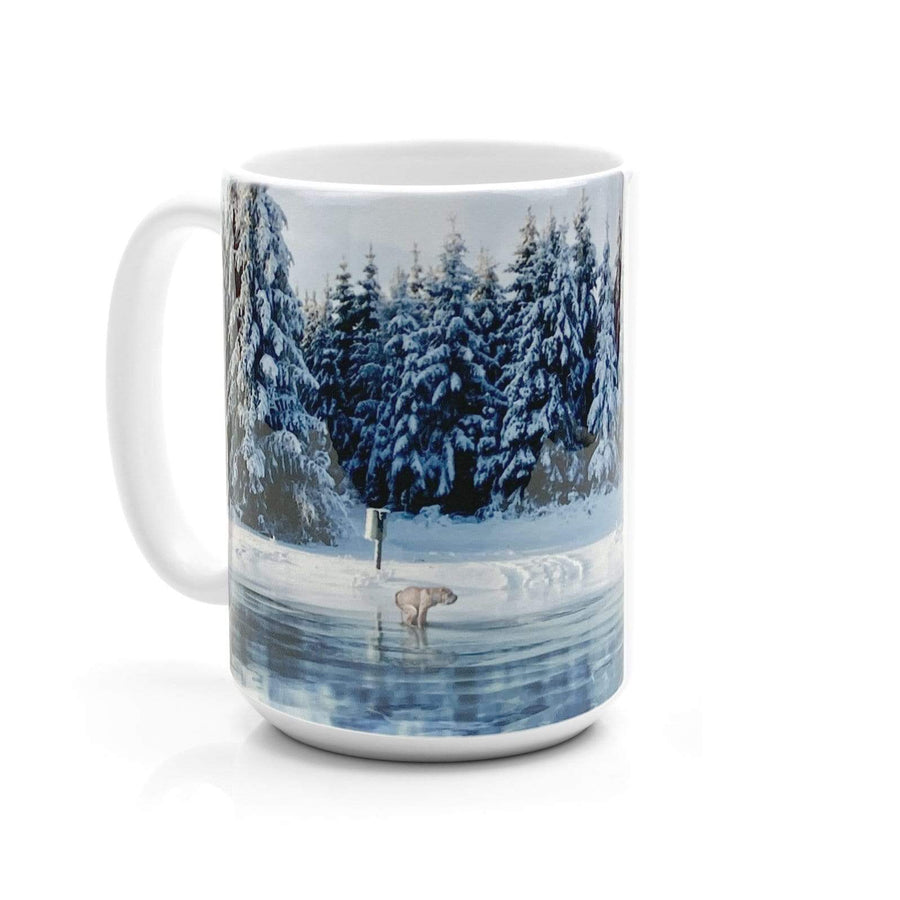 When Nature Calls 15oz Winterscape Mug
