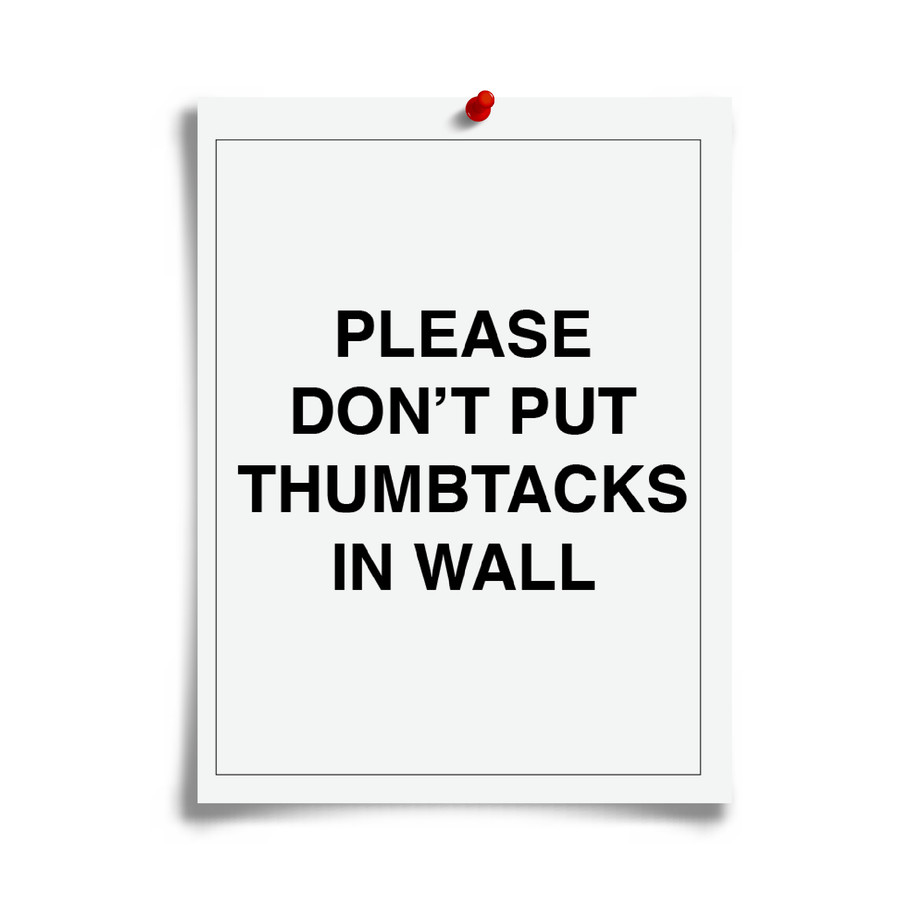 Thumbtack Policy