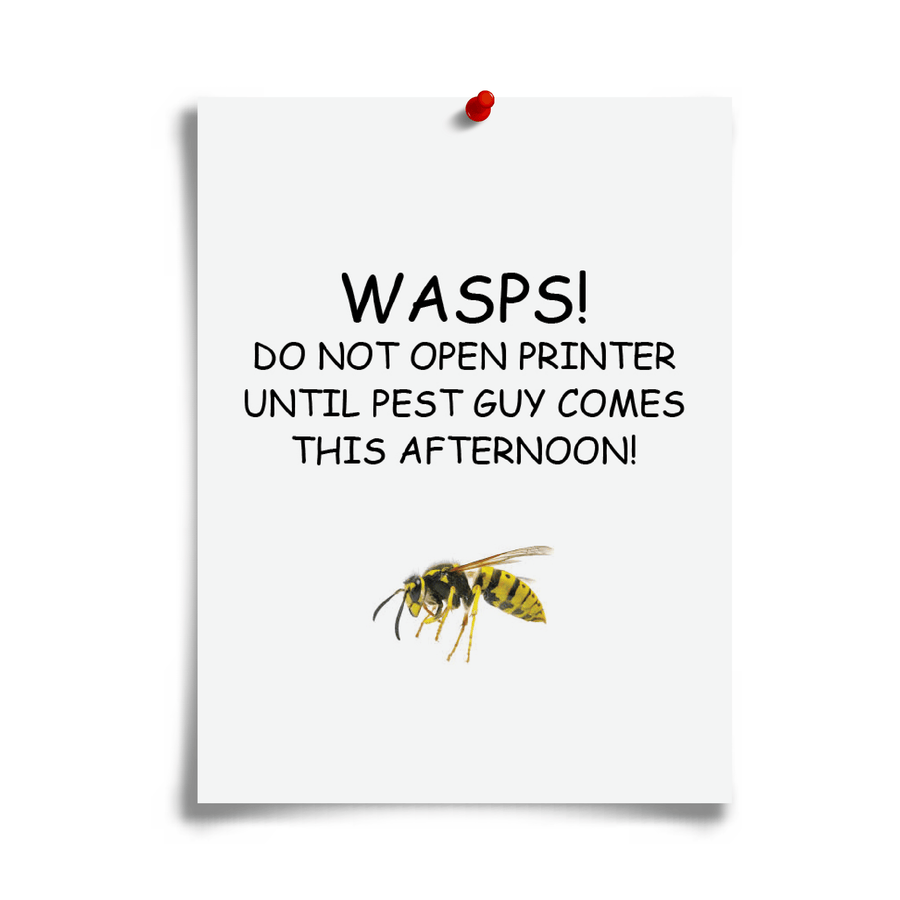 Printer Wasps!