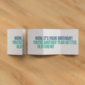 Wow, It's Your Birthday!