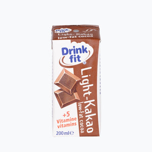 Drinkfit - Kakao *light* 200ml 3er-Pack Milchbubie