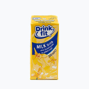 Drinkfit - Vanille 200ml 3er-Pack Milchbubie