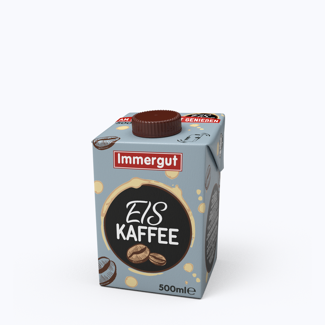 Immergut Eiskaffee (1,5% Fett) - 500ml